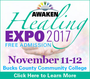 Join us for our 5th annual fundraising expo! November 11-12, 2017 at Bucks County Community College in Newtown, PA. Find what your soul is searching for at the AWAKEN Healing Expo! Join us for a loving, experiential and educational fundraising event. Learn about and experience firsthand various healing modalities and meet local gifted practitioners and workshop leaders. Free admission. Free talks every 30 mins. Group workshops every hour. Vendor room with over 30 unique product vendors. Energy Healing - Readings - Sound Healing - Massage - Meditation - Workshops - Educational Talks ? Vendors. Crystals - Jewelry - Clothing - Holistic Products - Salt Lamps - Orgonite - Natural Skin Care - Organic Tea and Coffee.